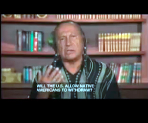 Russell Means TV Interview